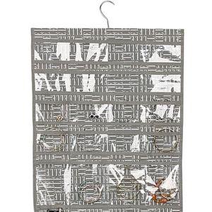 NWT ELLE DECOR Grey Hanging Jewelry Organizer